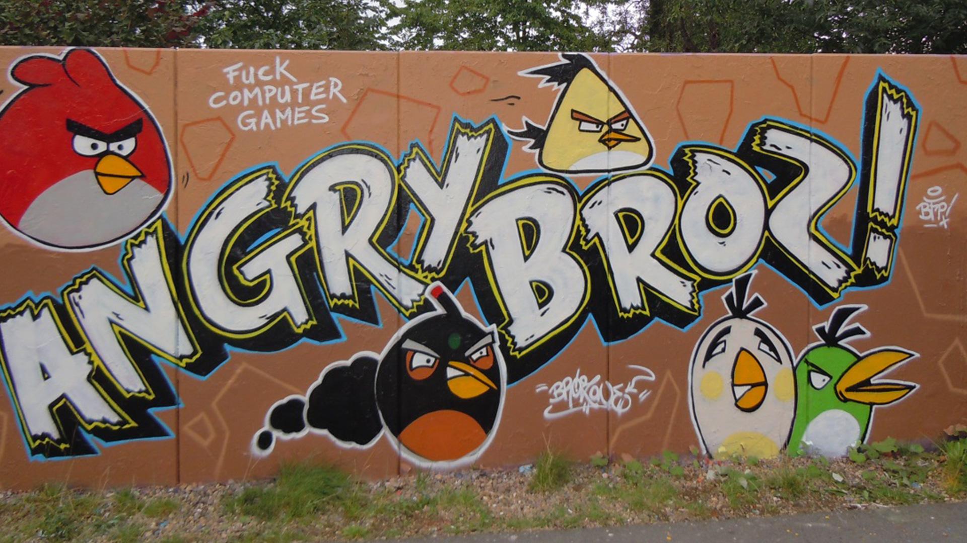 Graffiti & contract work – Brozilla
