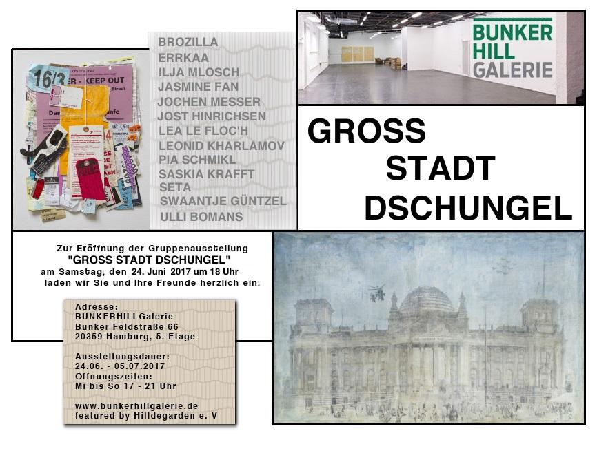 GROSS STADT DSCHUNGEL Plakat