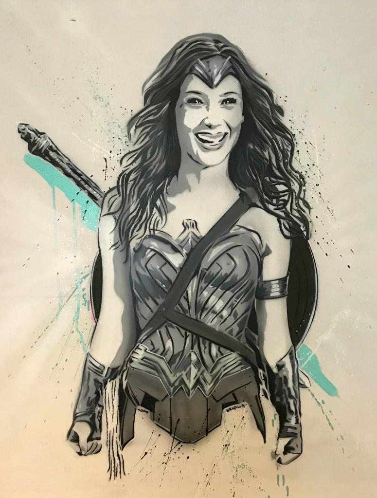 Brozilla Wonderwoman